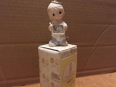PEACE ON EARTH....ANYWAY - Precious Moments Ornament by ENESCO - 183369