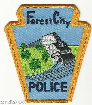 Forets City Police State PENNSYLVANIA PA Shoulder Patch