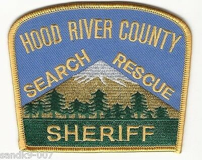 Hood River County Sheriff Search & Rescue Shoulder Patch State OREGON OR Police
