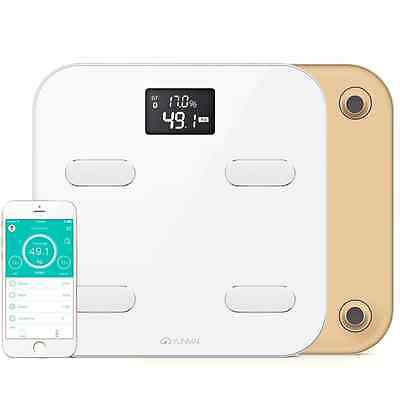 YUNMAI Color Smart Body Analyser - A Bluetooth Bathroom Scale with 10 Body Compo