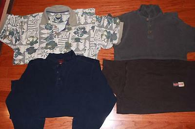 Tommy Bahama Shirt Lot Of 4 Adult Mens Polos T Shirt Tee Solid Floral All Medium
