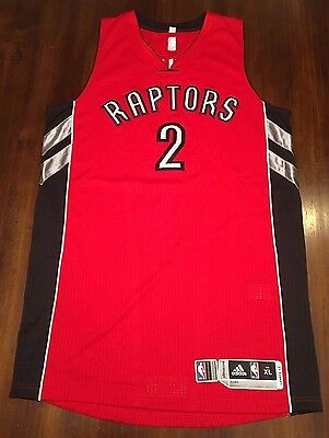 Toronto Raptors Authentic Adidas Game Worn Landry Fields Away Jersey XL+2 W/ COA