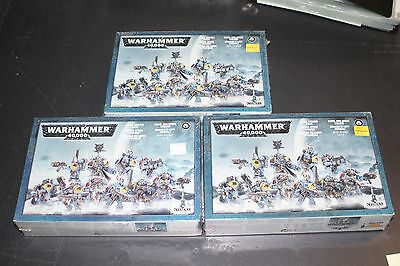 Warhammer 40k - Lot of 3 Space Wolves Pack