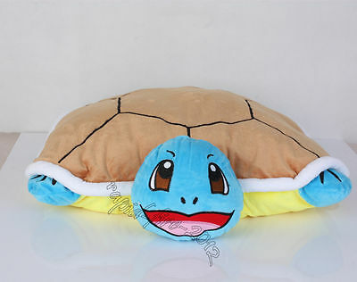 Pokemon Squirtle Plush Pillow Cushion Soft Doll Figure Toy 18 Inch Xmas Gift
