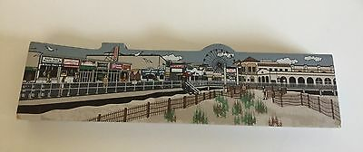 Hometown Collectibles  FISHING PIER AND BOARDWALK Ocean City NJ 1998