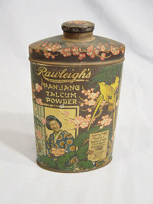 Pan-Jang  Talcum Tin  by the  W T Rawleigh Co. of Freeport Ill.