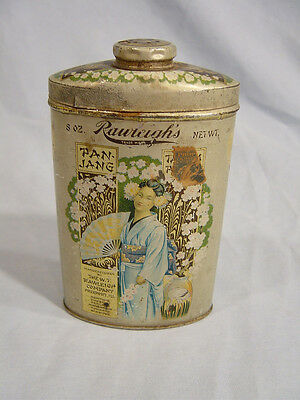 Pan-Jang 8oz. Talcum Tin  by the  W T Rawleigh Co. of Freeport Ill.