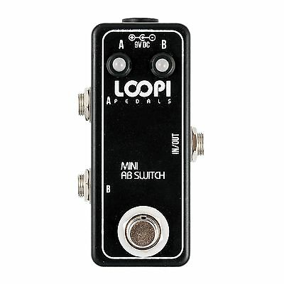 AB Switching Pedal - True Bypass - Loopi Pedals