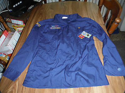 Cub Scout Boy Scout Shirt Size 20 Sewn On Camden County Council NJ