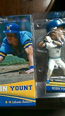 Robin Yount Bobblehead Milwaukee Brewers All Fan Baseball Hall of Fame MLB