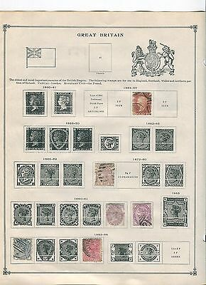 UK Stamp Collection - 1850s to 1980s