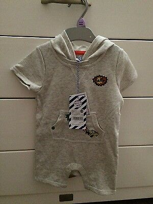 Baby boy Pumpkin Patch hooded outfit size 0 BNWT