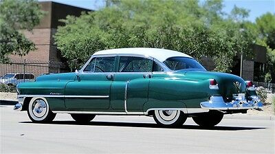 1953 Cadillac DeVille  how Car! Fully Restored 1953 CADILLAC SERIES 62, DeVille RARE GREEN Harley!