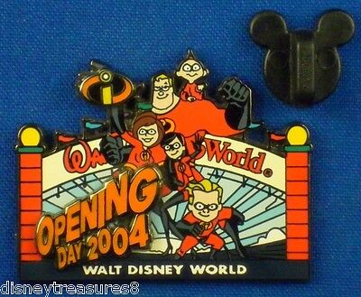 Disney Pin The Incredibles Opening Day 2004 Bob Violet Dash LE 3500 # 33914