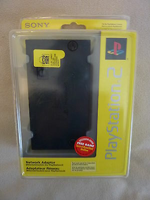 NEW Sony Playstation 2 Network Adapter SEALED PS2 Free U.S. Shipping!!!