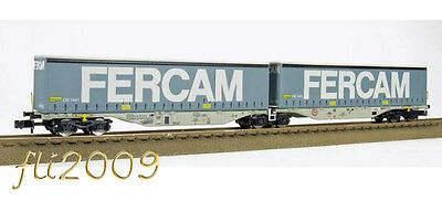 * Rocky Rail Scala N RR60121 Container Fercam Hupac Cargo NUovo OVP