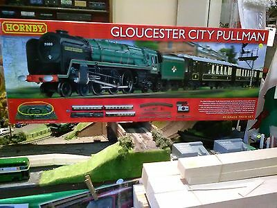 Hornby R1177 Gloucester City Pullman train set + free Woodlands Scenics DVD BNIB