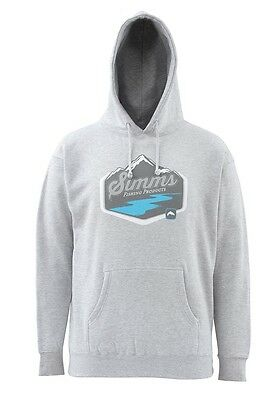 Simms RUNOFF Hoody ~ Sport Grey NEW ~ Closeout Size Large
