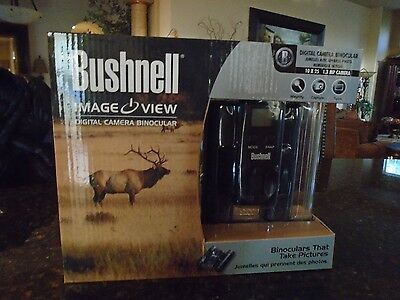 Bushnell Imageview Binoculars with Camera, 10x25mm, SD Card Slot (111026) NEW!