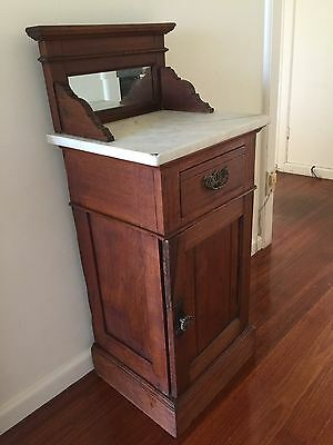 Antique Wash Stand/ Bedside Table