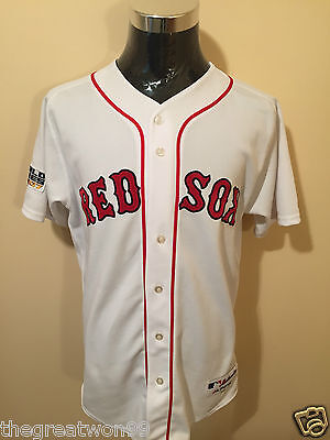 MLB Boston Red Sox #24 LGE SEWN 2007 World Series Baseball Jersey by Majestic