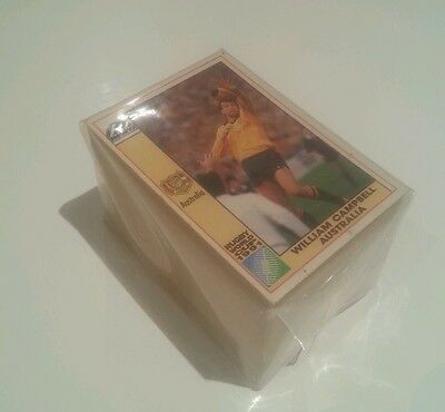 1991 REGINA RUGBY UNION WORLD CUP -  Full Set of 166 Cards. EXC COND wallabies