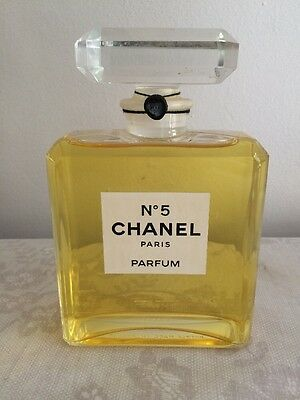 Chanel No 5 Display Bottle Not Real Perfume Contained