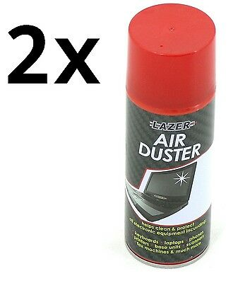 2x 200ml Compressed Air Duster Cleaner Can Canned Laptop Keyboard Sale
