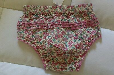 Baby girl Papinelle brand floral Pink Bloomers