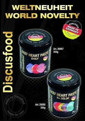 Discus Food Beefheart Paste V + Colour 350grams