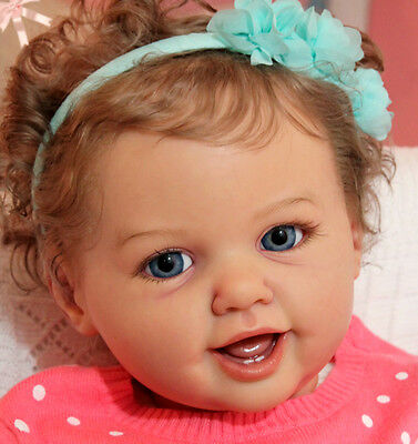 "New Release Reborn Toddler Doll Kit Marigold By Ann Timmerman @29""@Body Included"
