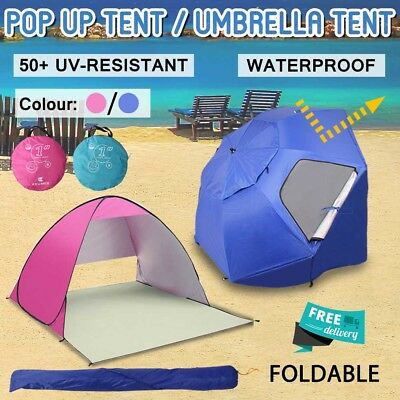 Automatic Portable Pop Up Beach Canopy Sun Shade Shelter Outdoor Camping Tent AU