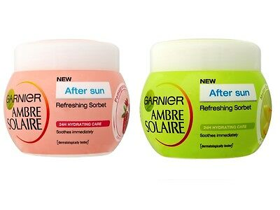 Garnier Ambre Solaire AfterSun Cream Sorbet Melon Fresh And Pomegranate 300ml