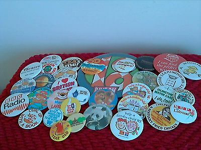Job Lot Vintage Pin Badges Various