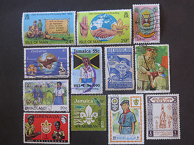 Scouts - Guides - Jamboree Worldwide Selection - 2 Pages