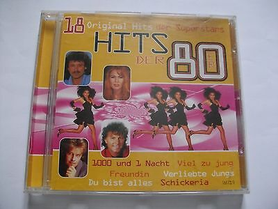 cd hits der 80er schlager eur 1 10 picclick de. Black Bedroom Furniture Sets. Home Design Ideas