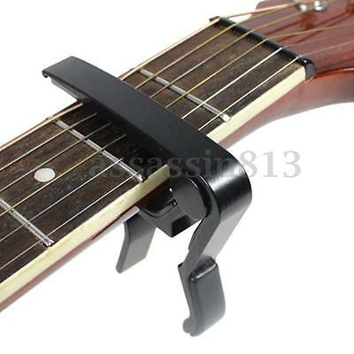 Guitar Capo Quick Change Tune Clamp Key for Acoustic Electric Classic Guitar HOT