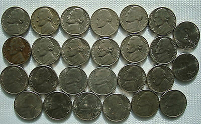 Jefferson Nickels Five Cents USA Coins