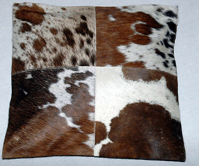 New Cowhide Hair on Natural Leather Cushion Cover/ Pillow Cover(15x15) Z-92