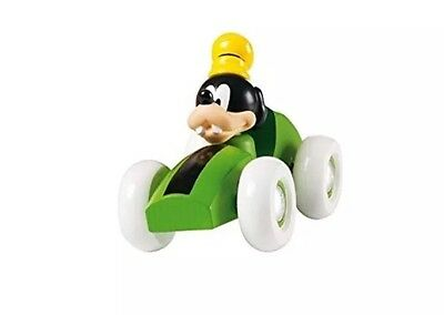 Collectable Brio Goofy In A Toy Car With Suspension