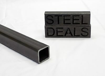 Carbon Square Steel Tubing  - 2 x 2 .188 x 17
