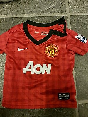 baby Manchester united shirt 3-6months