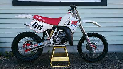 1987 Yamaha YZ  Yamaha YZ 250 1987 restored condition