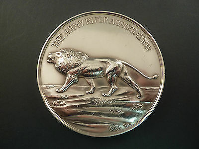 The Army Rifle Association Large Silver Prize Medal, 1924 Rtc
