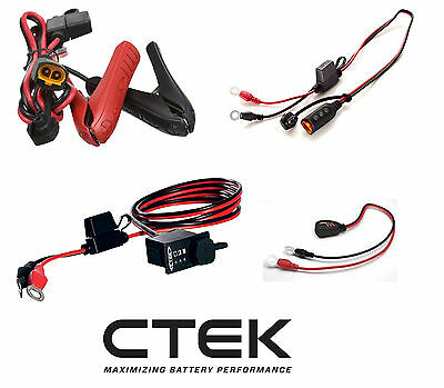 CTEK charger accesorry Comfort Indicator Panel Eyelet M8 56-382 CLAMPS 56-384