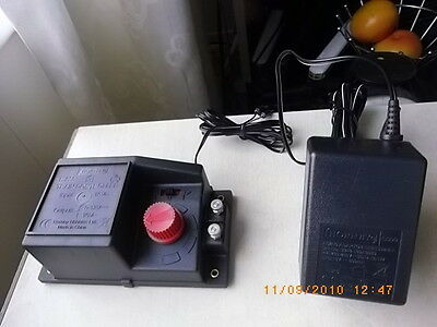 hornby r r 965 power speed controller and hornby c990 power pack new unused