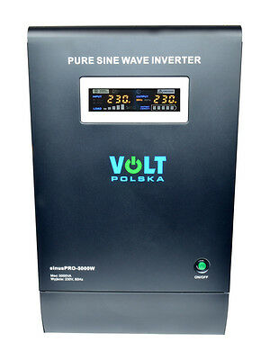 Off Grid Pure Sine Wave Inverter Charger Sinus Pro 5000W 48V /240V 15A AVR UPS