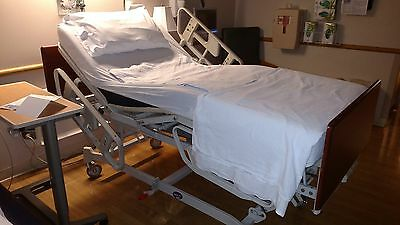 Hill-Rom Model 8350 SERIES All Electric Hospital Bed with Mattress.