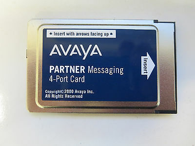 Avaya 4 Port Voicemail Messaging Card for Partner ACS Phone System -REFURBISHED