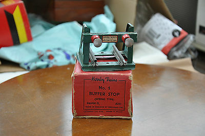 1930s HORNBY O GAUGE No.1 BUFFER STOP BOXED